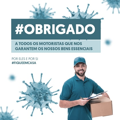 COVID-19 (Coronavirus) - Distributors, couriers, postmen and drivers continue to work during quarantine