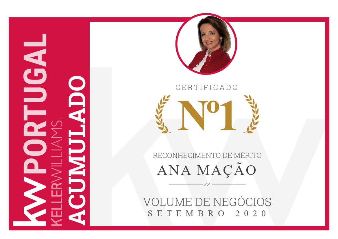 1st Place - National Top KW - Accumulated Total - September 2020