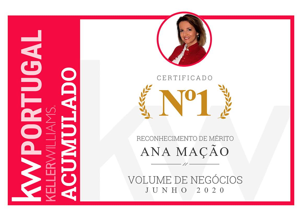 1º Lugar - Top Nacional KW - Total Acumulado - Junho 2020