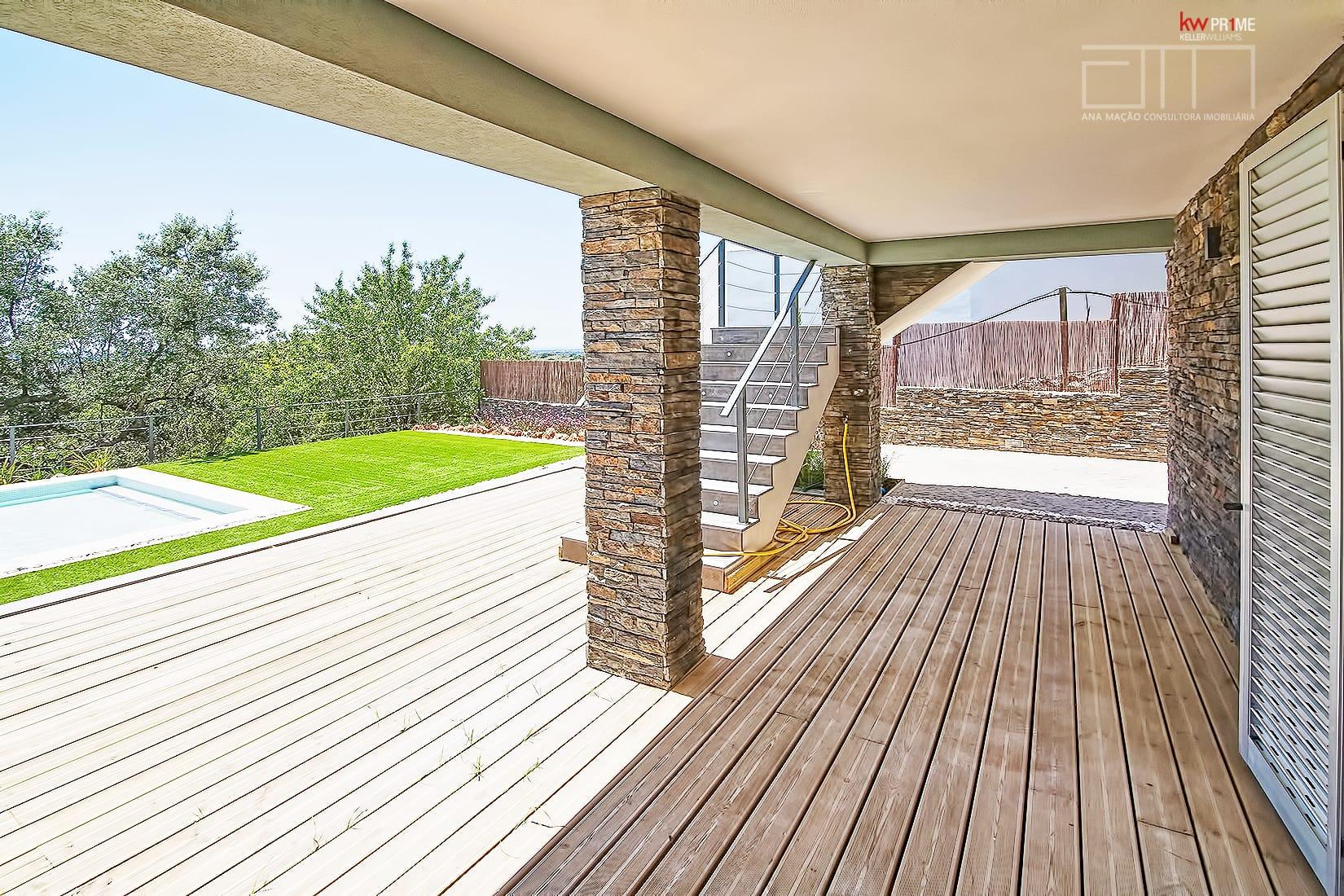 Algarve moradia contempor nea t3 com vista mar e serra for Casa moderna kw