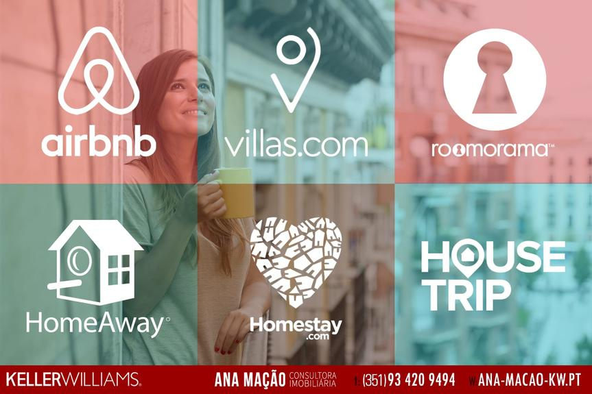 Airbnb e sites alternativos