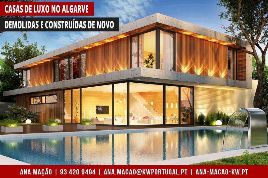 Algarve - Casas de Luxo em reconstrução