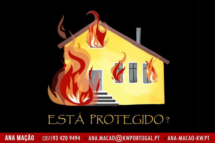 Segurança: prevenção de incêndios em casa