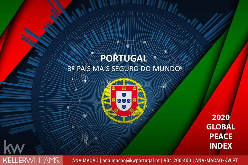 Portugal one of the safest countries in the world