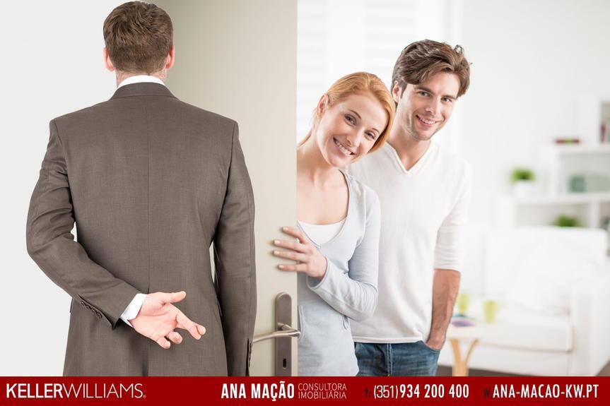 Tenho clientes interessados em comprar a sua casa...