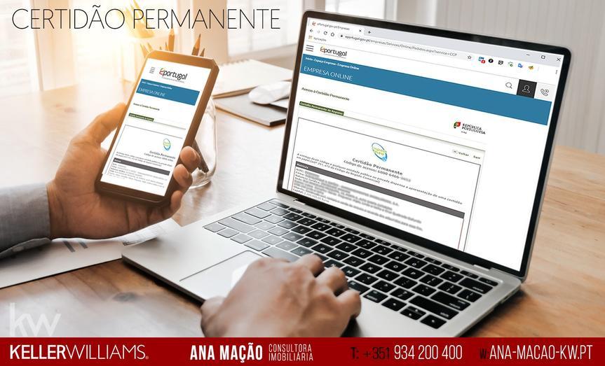 Certidão Permanente de Registo Comercial