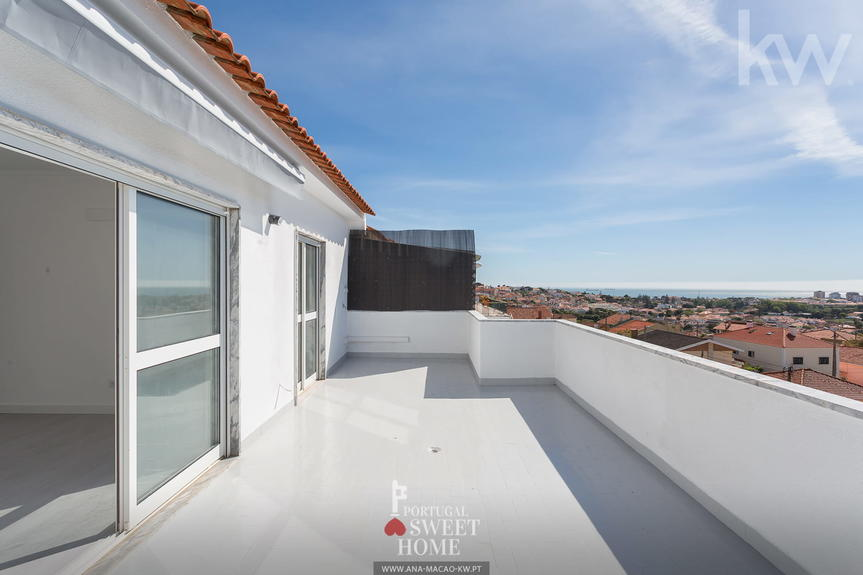 Parede - Penedo, Apart. T2 Renovated w / stunning views of the sea and Sintra mountains