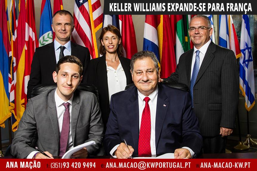 A Keller Williams expande-se para França