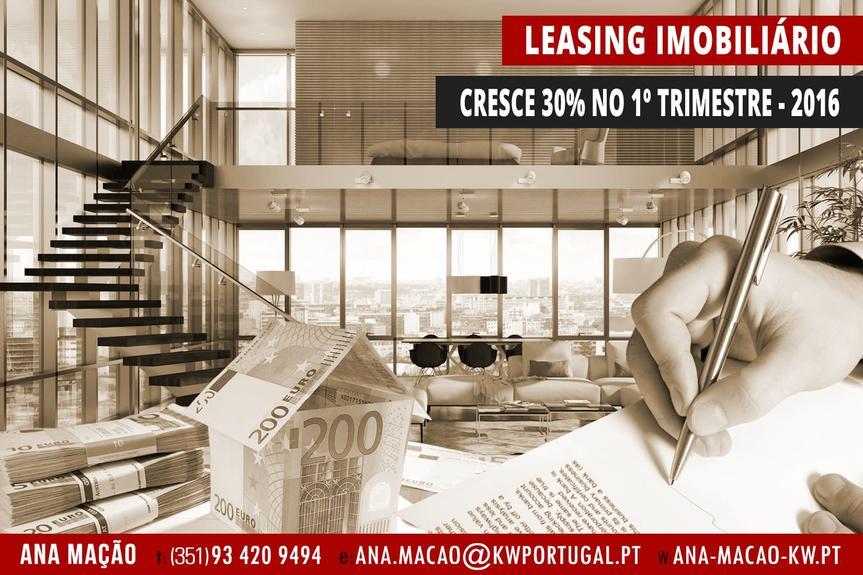 O Leasing Imobiliário cresce 30% no 1º trimestre de 2016