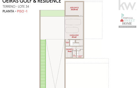 Projet - Plan du sous-sol