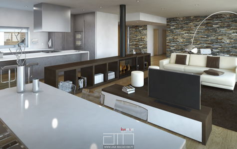 Architecture Project - Living Room