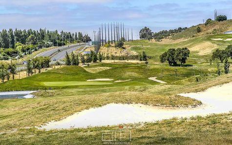 Campo de Golf com 9 buracos