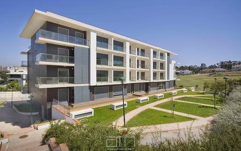 Vista exterior do projeto do prédio