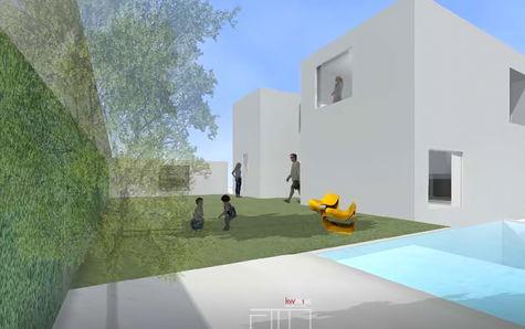 Projeto - Jardim e Piscina