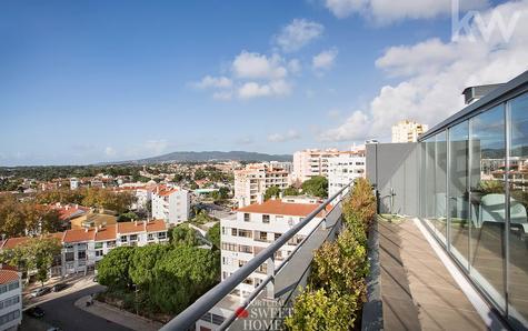 View to the Serra de Sintra