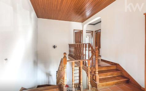 Corredor de acesso ao piso 1