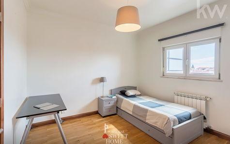 Bedroom on the top floor of the Duplex