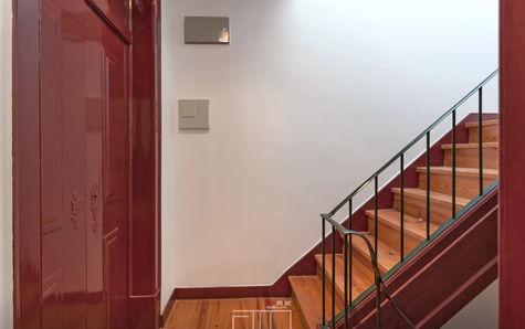 Escadas do prédio