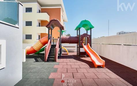 Parque infantil do condomínio