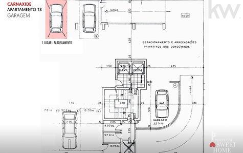 Floor of garages plan