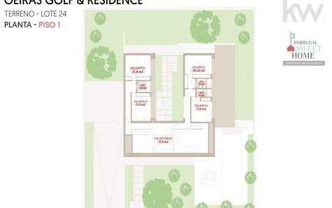 Projet - Plan du dernier étage