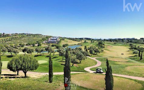 Vue du parcours de golf