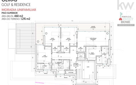 Plan du dernier étage