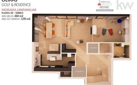 Plan d'étage 3D