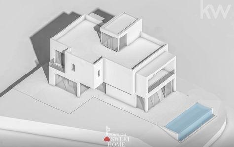 Vue extérieure de l'habitation (projet)
