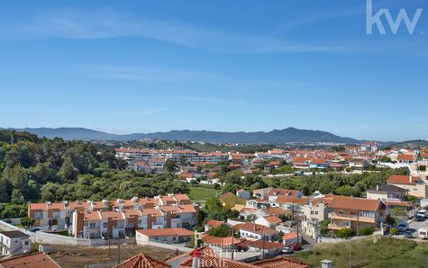 View to the mountain range of Sintra
