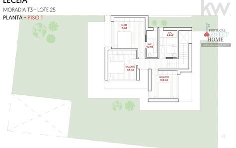 Plnta da moradia (piso 1)