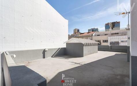 Terrasse sur le toit (50m2)