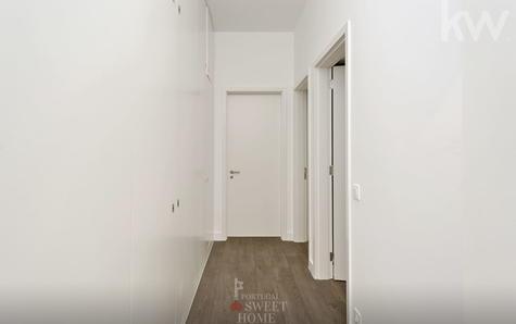 Accès au couloir aux chambres