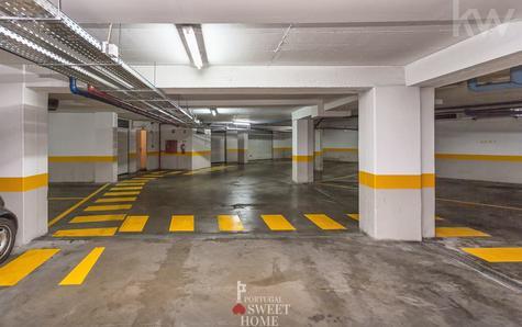 Vue du plancher du garage