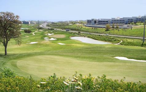 9 hole golf course view