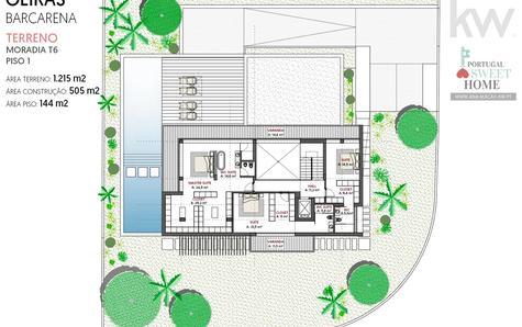 Project - Top floor plan