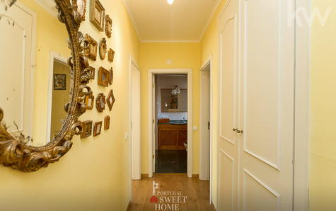 Vue du couloir