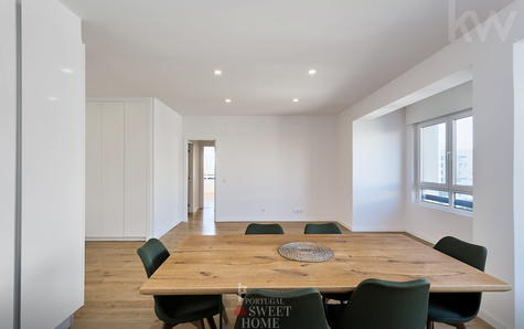 Living room and kitchen (19 m²), open in open space