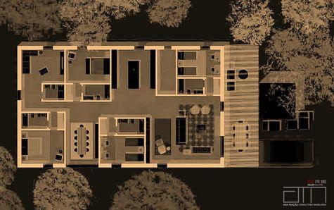 Promontório - House plan